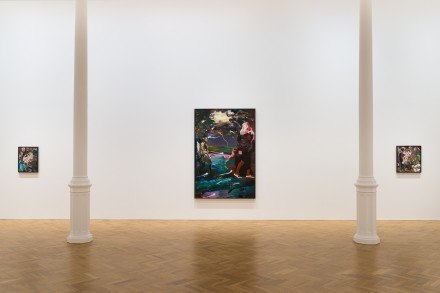 Adrian Ghenie, Golems (Installation View) ©Adrian Ghenie Courtesy of The Pace Gallery