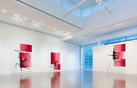 Albert Oehlen: New Paintings (Installation View)