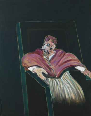 Francis Bacon, Study for a Pope III, (1961), Photograph: © The Estate of Francis Bacon.