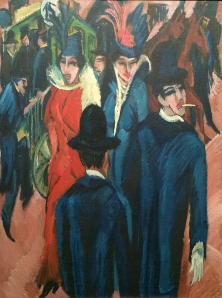 Berlin-Street-Scene-by-Ernst-Ludwig-Kirchner-for-Degenerate-Art-at-Neue-Galerie