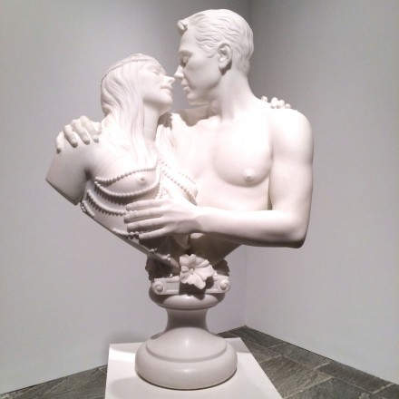 Bourgeois-Bust—Jeff-and-Ilona-by-Jeff-Koons-at-The-Whitney