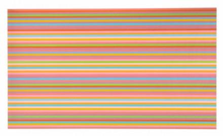 Bridget Riley, About Yellow, 2014-2013 via David Zwirner London