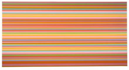 Bridget Riley, Brioso (Orange), 2013 via David Zwirner London