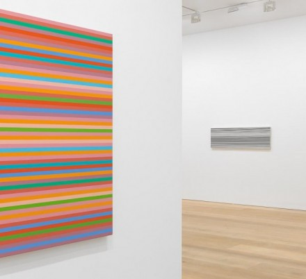 Bridget Riley (Installation View) via David Zwirner London