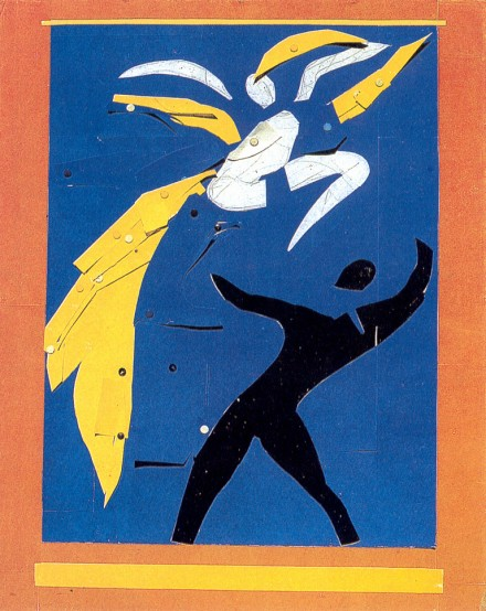 "Henri Matisse, Project for ""The Strana Forandola"" (1938), via The Tate"