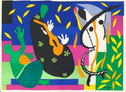 Henri Matisse, Sorrow of the King (1952), via The Tate