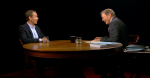 Jeff Koons and Charlie Rose Screenshot, via Hulu