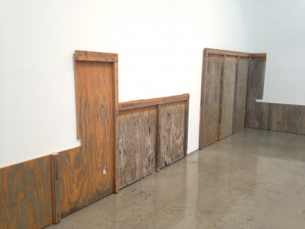 John Knight, Work, in situ, Galerie NEU:MD72:Gladstone Gallery, (2013)