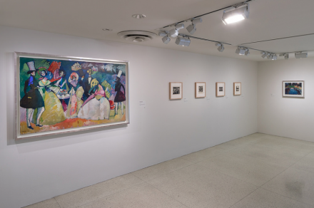 Kandinsky Before Abstraction, (1901–1911) (Installation View), courtesy Solomon R. Guggenheim Foundation