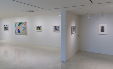 Kandinsky Before Abstraction, (1901–1911), (Installation View), courtesy Solomon R. Guggenheim Foundation