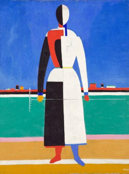 Kazimir Malevich, Woman with Rake, 1930-32, Tate Modern