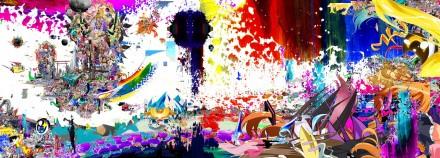 Kazuki Umezawa, A Certain Mankind's Super Landscape II (2012) Courtesy of Friedman Benda and the artists