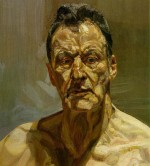 Lucian Freud Self-Portrait, 1985, via Art Observed