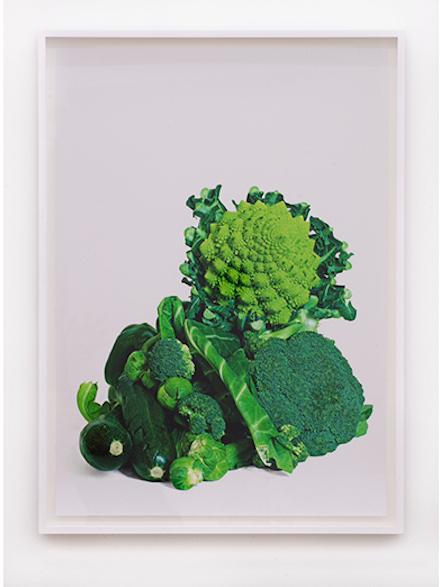 "Mark Leckey, ""GreenScreenVegetables,"" 2011"