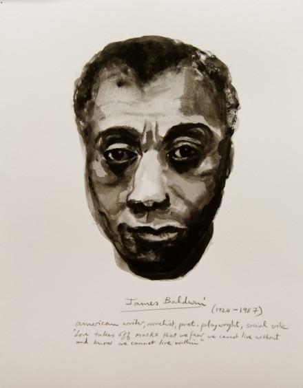 Marlene Dumas, James Baldwin, Manifesto 10