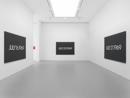 On Kawara, via Art Newspaper
