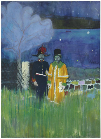 Peter Doig, Gasthof, via Christie's