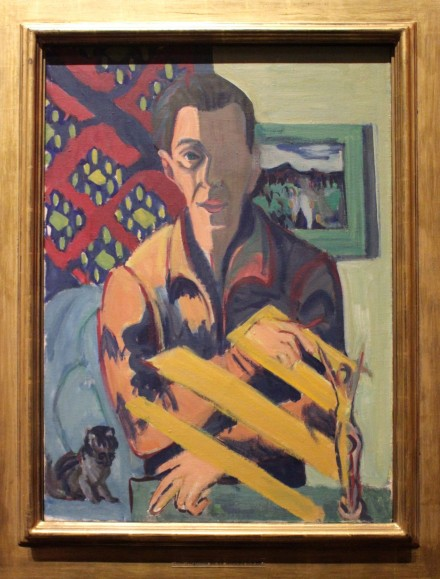 Self-Portrait-by-Ernst-Ludwig-Kirchner-for-Degenerate-Art-at-Neue-Galerie