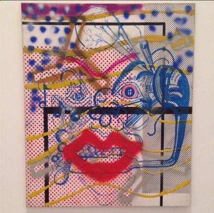 "Sigmar Polke, ""Dr. Berlin,"" 1969-70, via Art Observed"