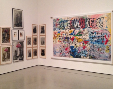 Sigmar Polke at the MOMA, Gallery View, via Art Observed