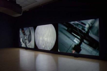 Steve McQueen, Drumroll (Installation View)
