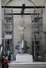 The Winged Victory of Samothrace, via WSJ