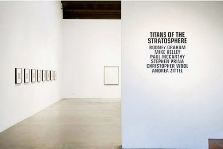 Titans of the Stratosphere (Installation View)