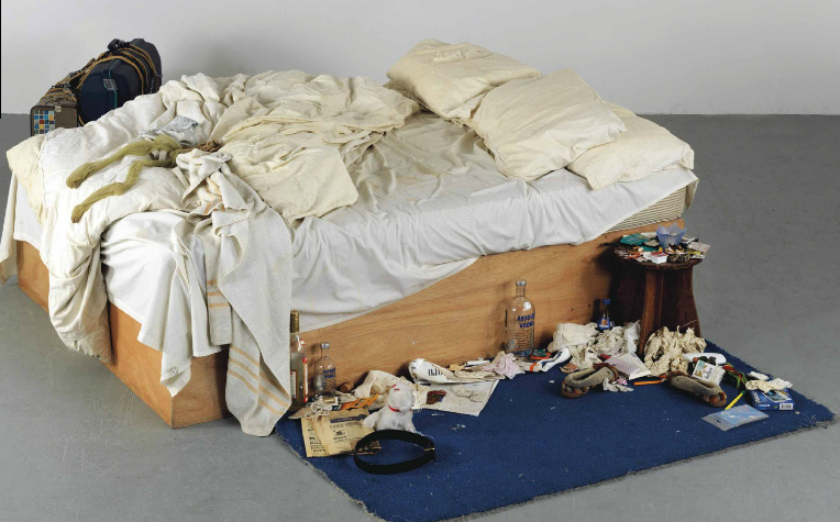 Tracey Emin's Bed Loaned to Tate Modern - AO Art Observed™