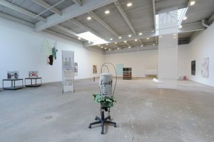 Violet Dennison installed at David Zwirner, via David Zwirner