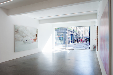 Will Cotton, (Installation View), all images courtesy of the artist, Mary Boone Gallery, New York and Ronchini Gallery, London