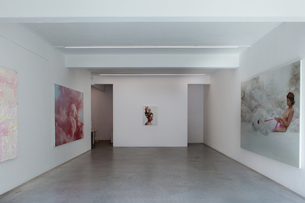Will Cotton at Ronchini Gallery (Installation View)