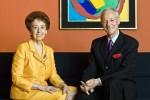 Agnes and Karlheinz Essl, via Artnet