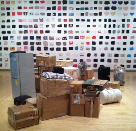 Ai Weiwei, Ye Haiyan's Belongings, via Art Observed