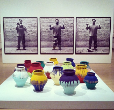Ai Weiwei at Brooklyn Museum, via Art Observed