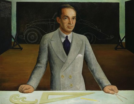 Diego Rivera, Edsel B. Ford, (1932), via Marianne Boesky