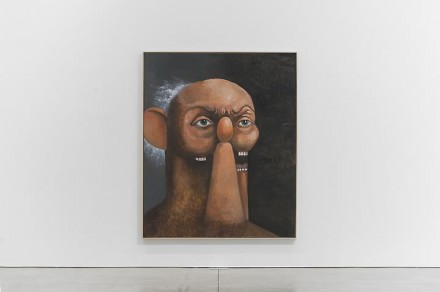 George Condo, Old Man Portrait (2011), via Skarstedt