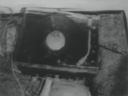 Gerhard Richter, Plattenspieler, (Record Player) (1988)