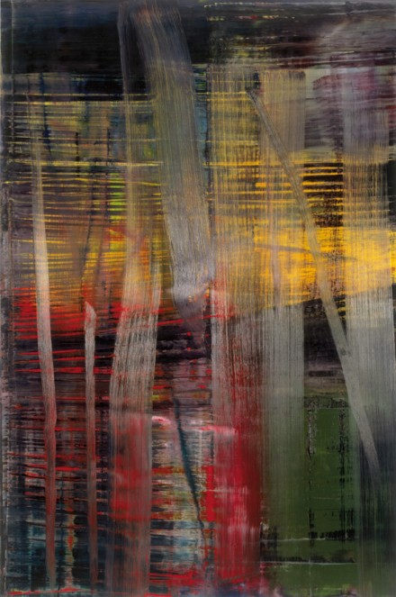 Gerhard Richter, Wald (Forest), (2005), all images courtesy Fondation Beyeler