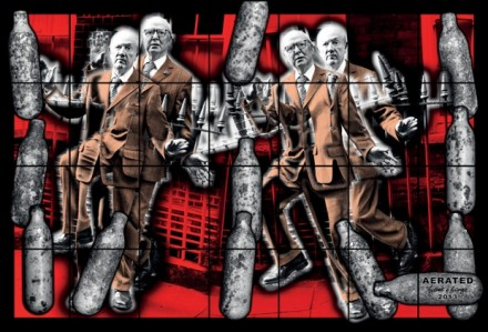 Gilbert & George, Aerated (2013)