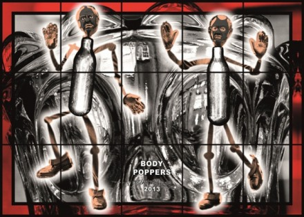 Gilbert & George, Body Poppers (2013)