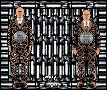 Gilbert & George, Wattle (2013)
