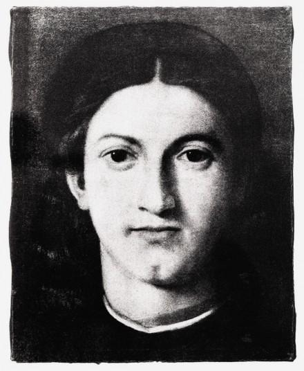 Giulio Paolini, Young Man Looking at Lorenzo Lotto (1967)