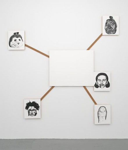 Mike Kelley, Center and Peripheries #2 (1990)