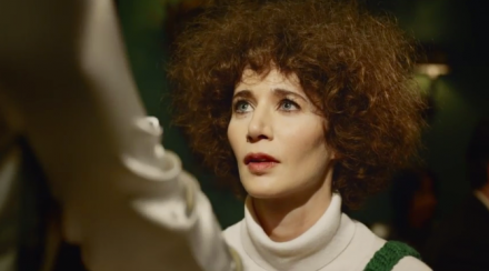 Miranda July in the Somebody App film, via Miranda July