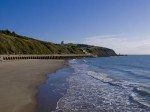 Outer Harbor Beach in Folkestone, via Independent
