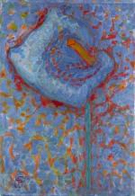 Piet Mondrian, Arum Lily, 1909-10. Photograph Gemeentemuseum den Haag © 2014 Mondrian/Holtzman Trust c/o HCR International