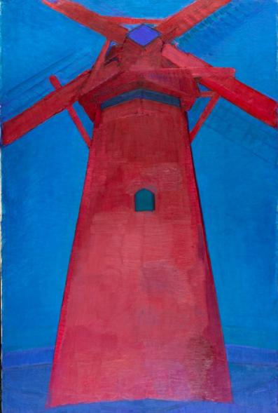 Piet Mondrian, Molen (Mill) (1911), Collection Gemeentemuseum Den Haag, The Netherlands © 2014 Mondrian:Holtzman Trust c:o HCR International USA