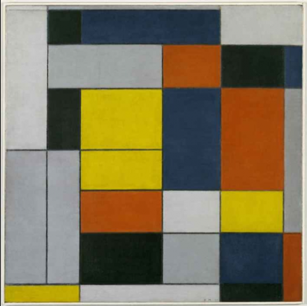 Piet Mondrian, No. VI/Composition No. II 1920 © 2014 Mondrian/Holtzman Trust c/o HCR International USA