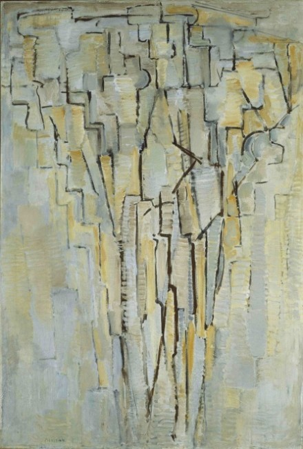 Piet Mondrian, The Tree A (c.1913) © Tate Photography, 2014 © 2014 Mondrian:Holtzman Trust c:o HCR International USA