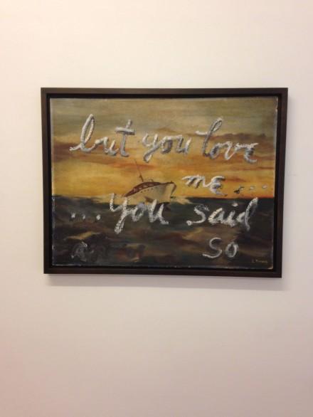 Rene Ricard, …but you love me you said so (2009)
